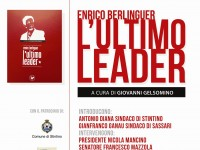 "A Stintino ""Enrico Berlinguer, l'ultimo leader"""